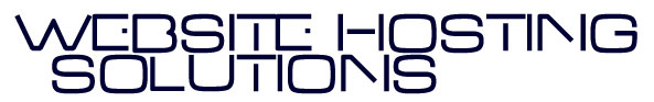 Website Hosting Solutions